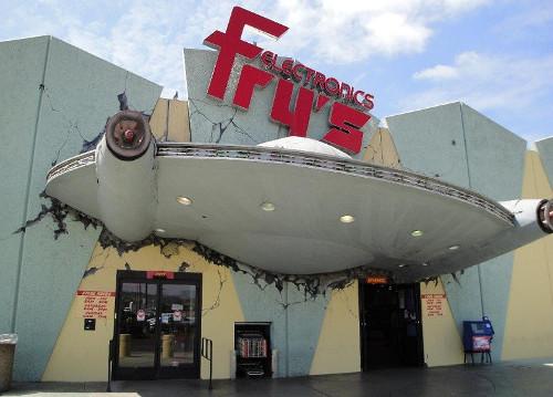 Frys.com chuyên bán các mặt hàng điện tử